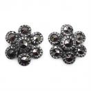 1.80 Grams Marcasite .925 Sterling Silver Earrings