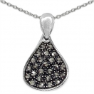 2.60 Grams Marcasite .925 Sterling Silver Pendant